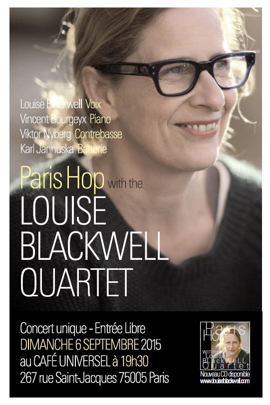 PARIS HOP WITH THE LOUISE BLACKWELL QUARTET